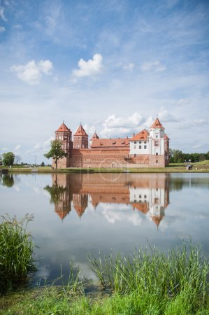 The Mirsky Castle Complex is a UNESCO World Heritage site in Bel