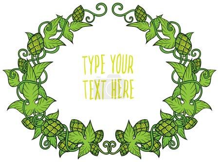 green hops frame