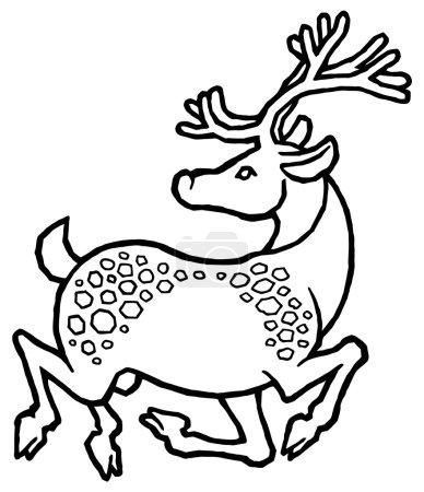 decorative sika deer
