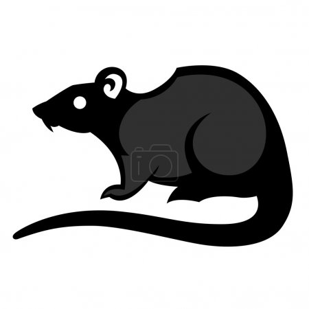 rat pest drawing home parasite