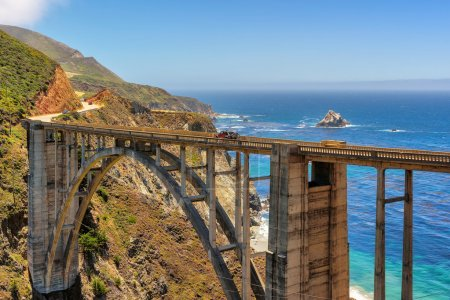 Bixby Bridge on Highway #1, on California coast