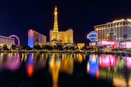 Photo pour Las Vegas Strip, Nevada, États-Unis - image libre de droit