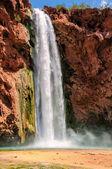 Waterfalls in rocks