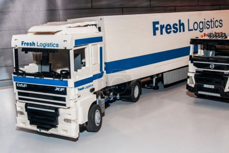 Truck Daf xf with fresh