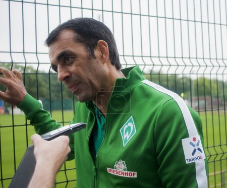 Robin Dutt is a retired German football player and last managed