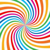 Colorful Bright Rainbow Spiral Background