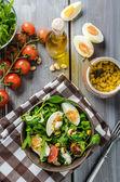 Lamb hlávkový salát s vejci