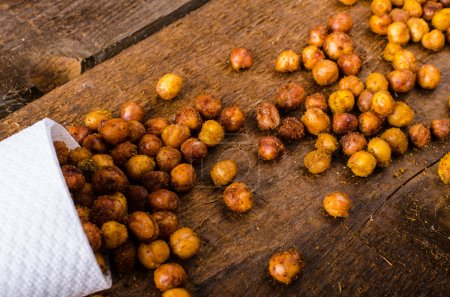 Roasted chickpeas spiced