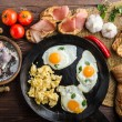 Постер, плакат: Full protein breakfast