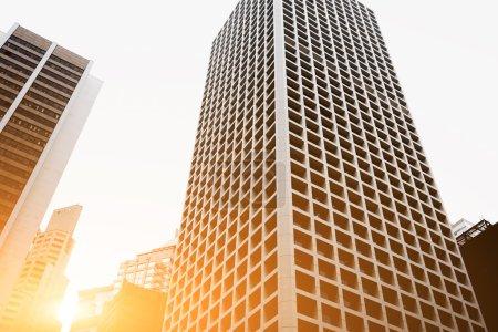 Modern skyscrapers in big metropolitan city