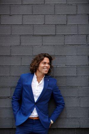 Portrait of successful man in suit