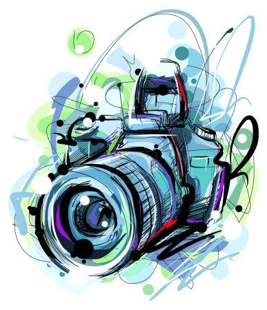 Big blue Camera