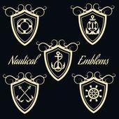 Nautical Signboards Set