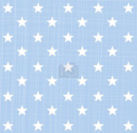 Illustration pour Modèle étoile bleu clair - image libre de droit