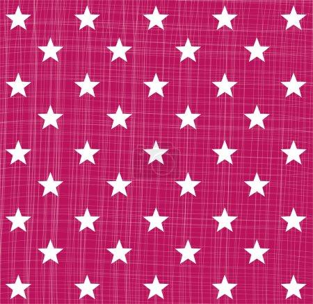 Illustration pour Modèle étoile rose - image libre de droit