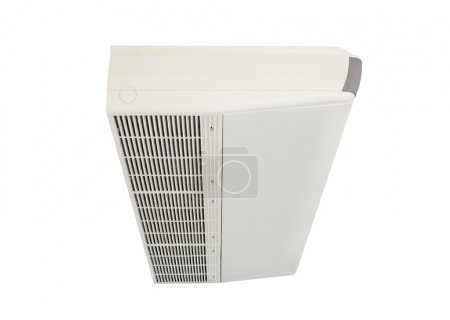 Photo pour Climatiseur machine isoler fond . - image libre de droit