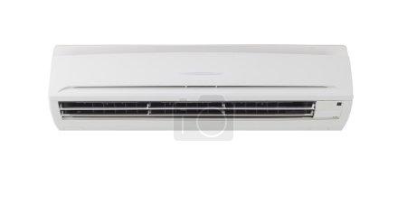 Photo pour Machine de climatiseur en arrière-plan isolé . - image libre de droit