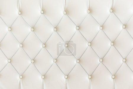 Photo pour Couleur d'arrière-plan, blanc de modèle de coussin. - image libre de droit