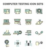 Computer test icon