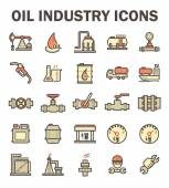 Oil industry icon