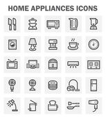 Home appliance icons sets