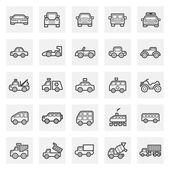 Vehicle icons sets
