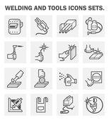 Welding tool icons