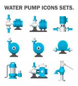 Water pump isolated