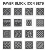 Paver block sets