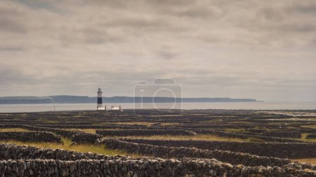 Lighthouse on Inisheer (Inis Oirr), the smallest o...