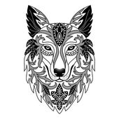 Vector illustration for textile prints tattoo web and graphic design