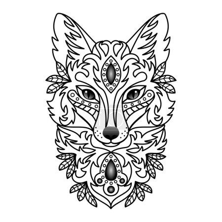Ornamental White Fox