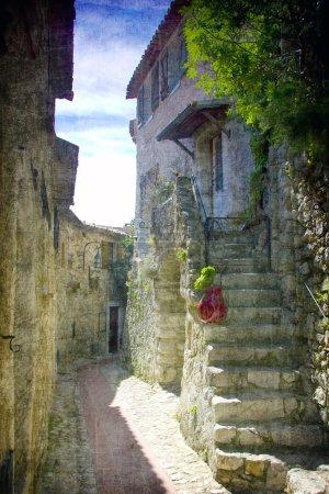 The city of Èze, France