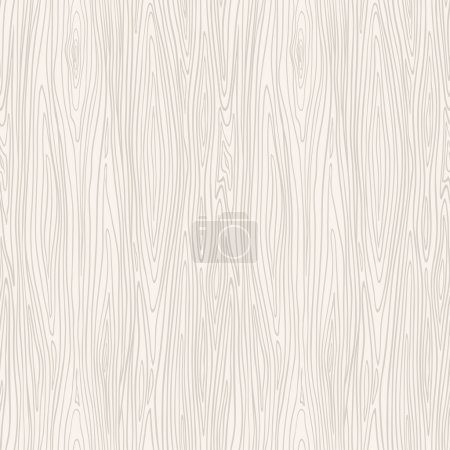 Illustration for Wood texture template. Seamless pattern. Vector illustration. - Royalty Free Image