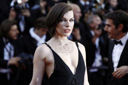 Milla Jovovich model actress