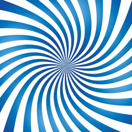 Illustration for Abstract vector spiral background - Royalty Free Image
