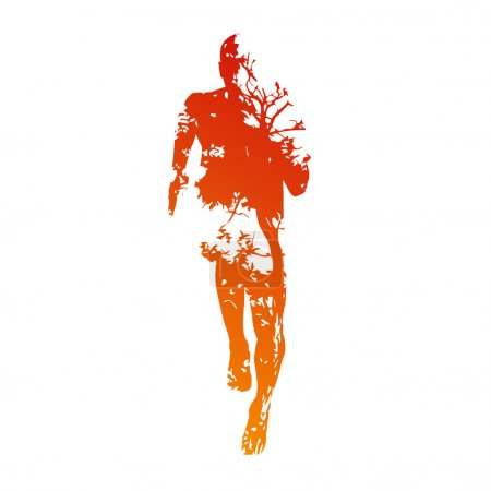 Abstract vector runner