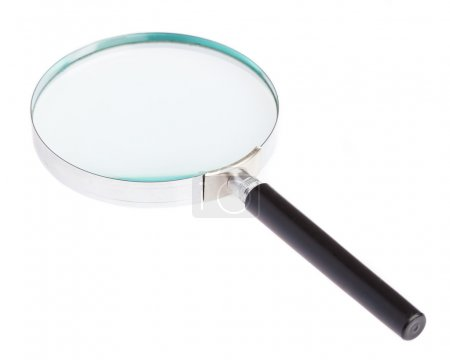 Magnifying glass laying