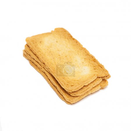 Thin rusks pile
