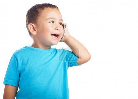 Child calling by mobile