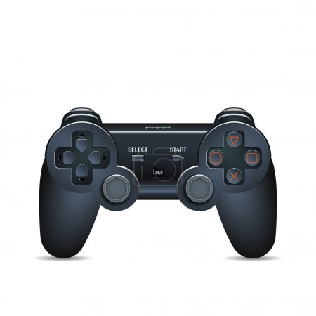 Gamepad Joystick. Joystick game console. Realistic image.