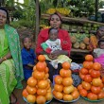 Kampala, Uganda-13 April 2007 Unidentified women a...