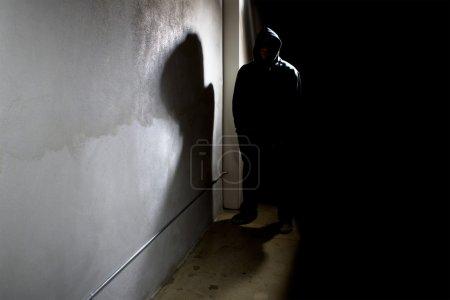 Hooded criminal stalking