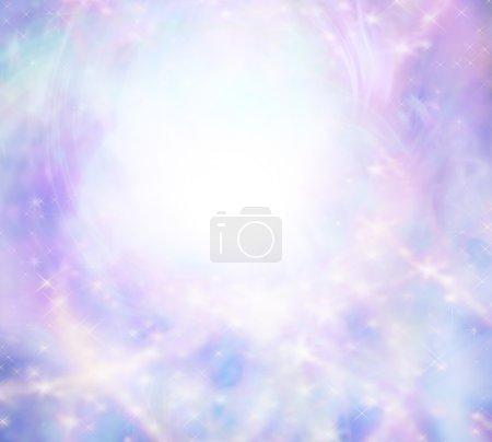 Sparkly wispy pink light burst background