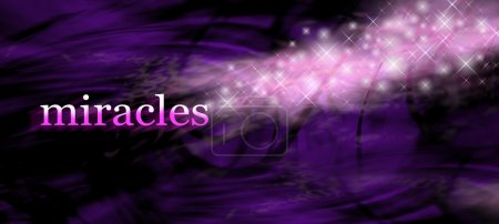Miracles website banner background