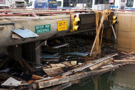 Battery Park Underpass after Hurricane Sandy