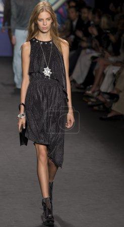 NEW YORK, NY - SEPTEMBER 10: Lexi Boling walks the...