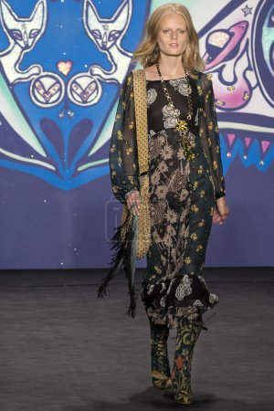 Anna Sui 2015 Spring Collection