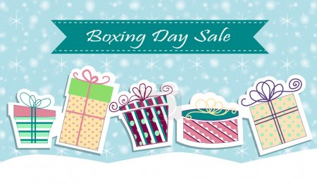 Christmas sale poster sign design