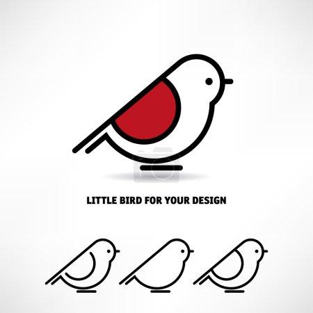 Little bird icons